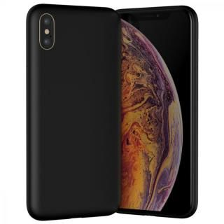 iPhone XS ケース MYNUS iPhone XS CASE 背面ケース マットブラック