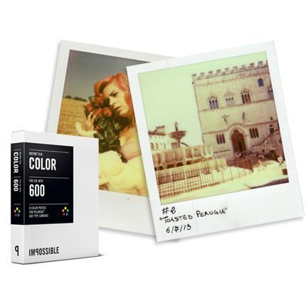 INSTANT COLOR FILM  POLAROID 600-Type Cameras_0