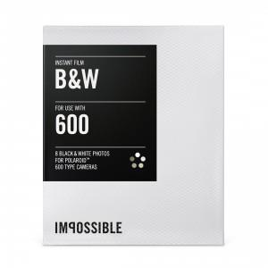 INSTANT BLACK&WHITE FILM  POLAROID 600 TYPE CAMERA