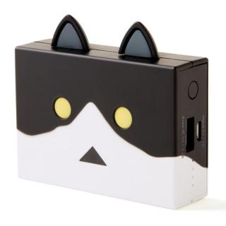 [6000mAh]cheero Power Plus nyanboard version モバイルバッテリー ハチワレ