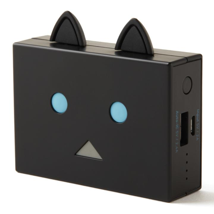 [6000mAh]cheero Power Plus nyanboard version モバイルバッテリー クロ_0