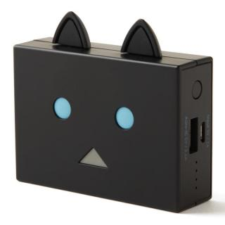 [6000mAh]cheero Power Plus nyanboard version モバイルバッテリー クロ
