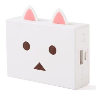 [6000mAh]cheero Power Plus nyanboard version モバイルバッテリー シロ