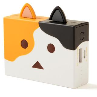 [6000mAh]cheero Power Plus nyanboard version モバイルバッテリー ミケ