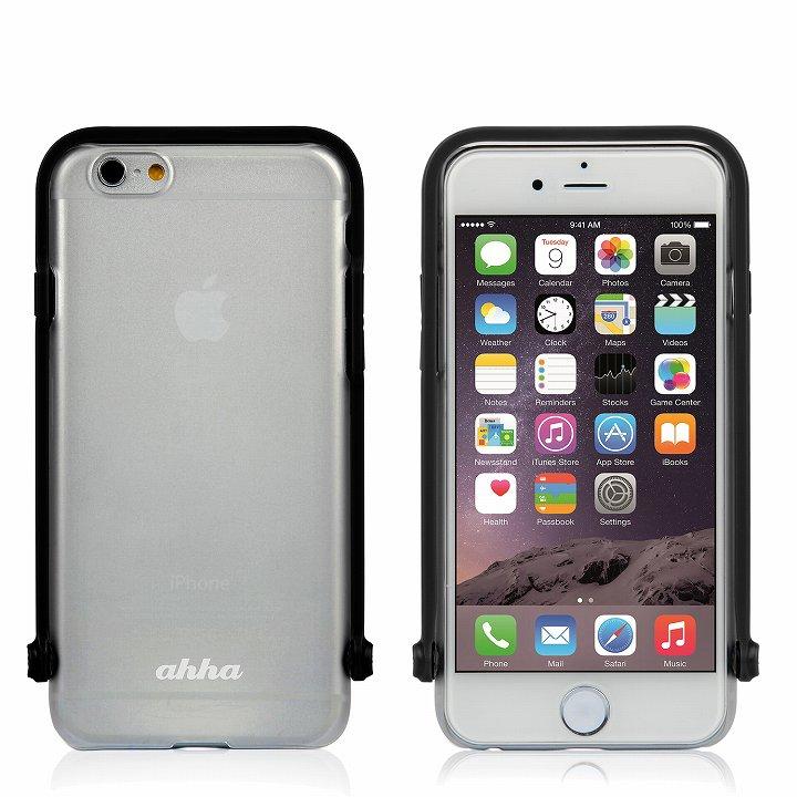 【iPhone6ケース】スナップショットケース SELFIE クリア ブラック iPhone 6_0