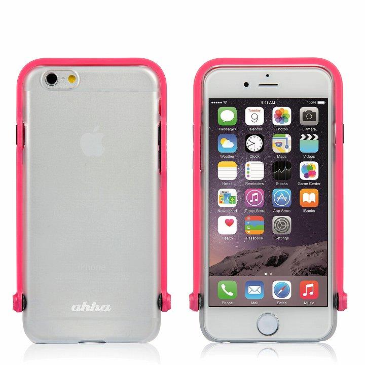 【iPhone6ケース】スナップショットケース SELFIE クリア ピンク iPhone 6_0