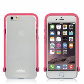スナップショットケース SELFIE クリア ピンク iPhone 6
