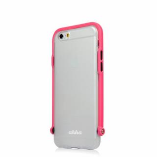 【iPhone6ケース】スナップショットケース SELFIE クリア ピンク iPhone 6_1