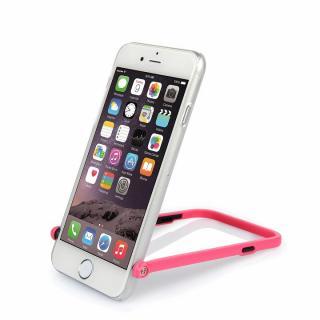 【iPhone6ケース】スナップショットケース SELFIE クリア ピンク iPhone 6_3