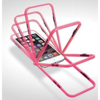 【iPhone6ケース】スナップショットケース SELFIE クリア ピンク iPhone 6_4
