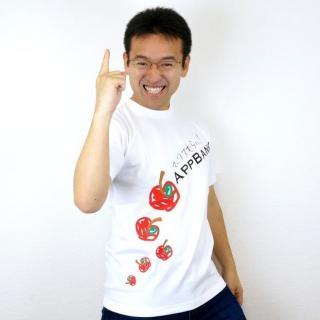 [完売御礼] マックスむらい 直筆サイン入り AppBank TシャツM