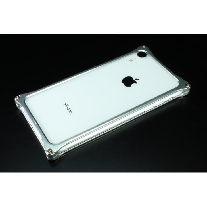 iPhone XR ケース ギルドデザイン ソリッドバンパー シルバー iPhone XR_0