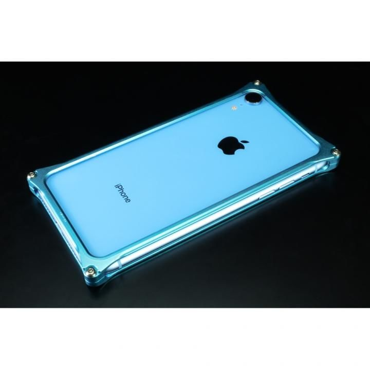 iPhone XR ケース ギルドデザイン ソリッドバンパー ライトブルー iPhone XR_0