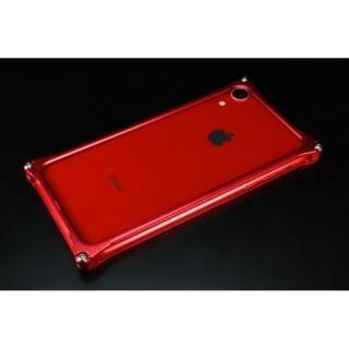 iPhone XR ケース ギルドデザイン ソリッドバンパー レッド iPhone XR