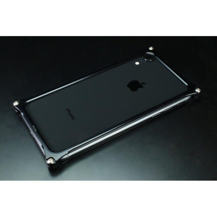 iPhone XR ケース ギルドデザイン ソリッドバンパー ブラック iPhone XR【11月上旬】_0