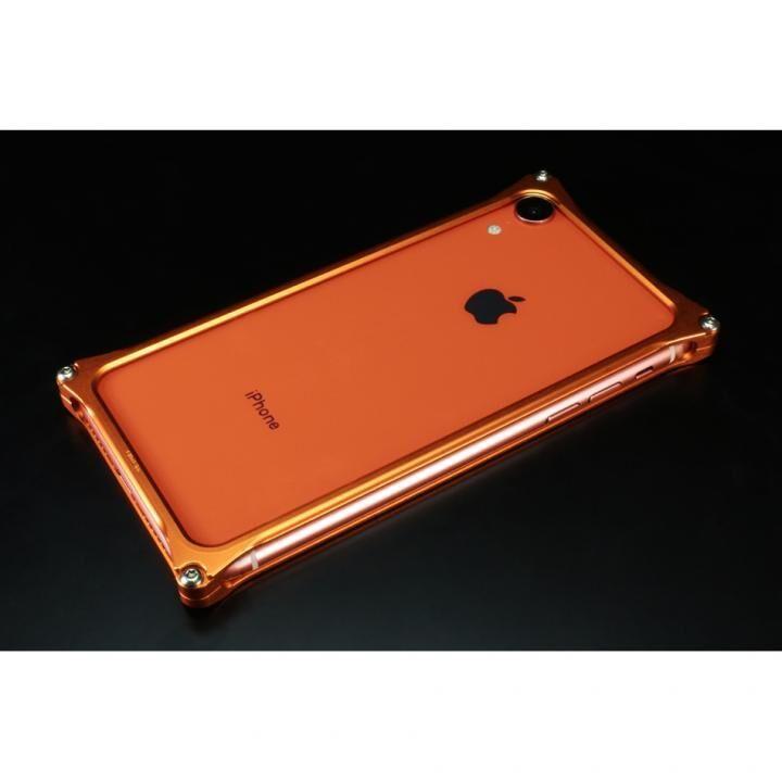 iPhone XR ケース ギルドデザイン ソリッドバンパー コーラルオレンジ iPhone XR_0