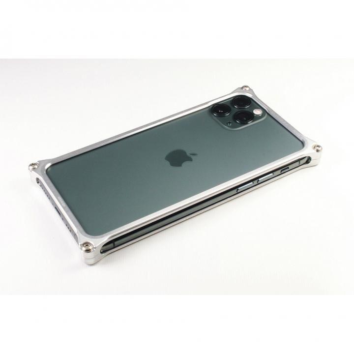 iPhone 11 Pro ケース ギルドデザイン ソリッドバンパー シルバー iPhone 11 Pro_0