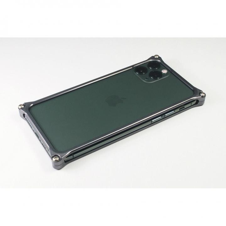 iPhone 11 Pro ケース ギルドデザイン ソリッドバンパー グレー iPhone 11 Pro【3月下旬】_0