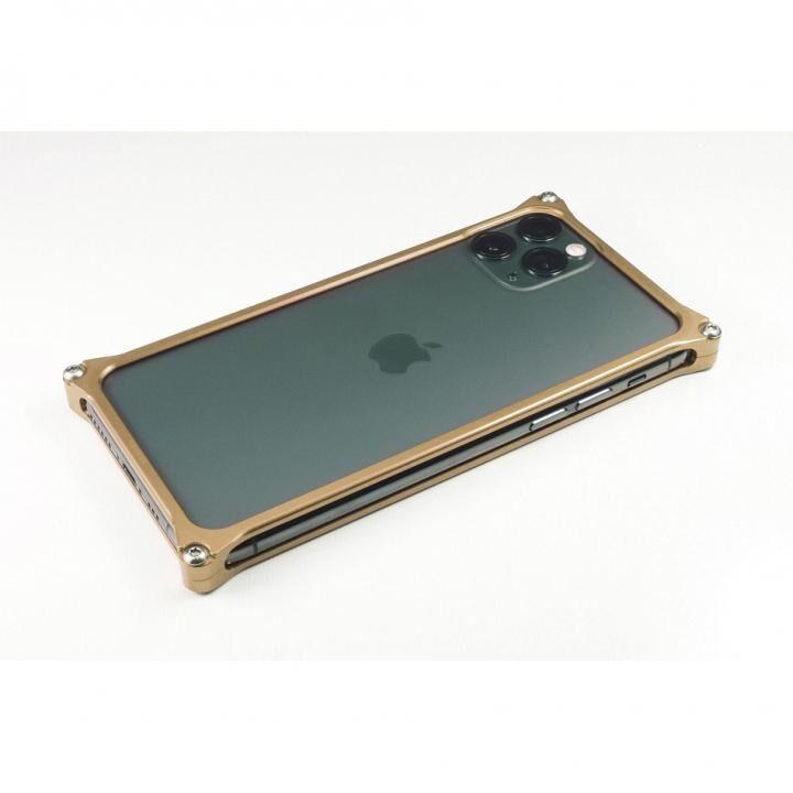 iPhone 11 Pro ケース ギルドデザイン ソリッドバンパー シグネイチャーゴールド iPhone 11 Pro_0