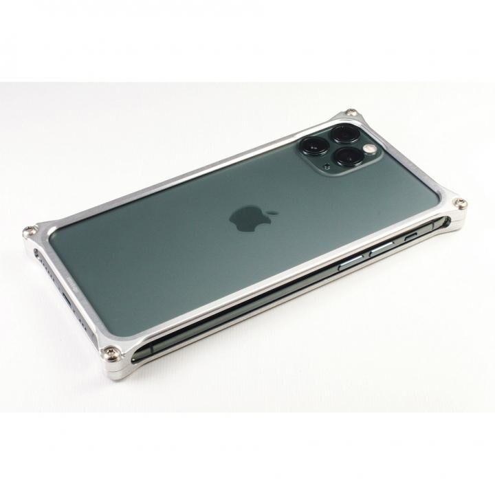 iPhone 11 Pro Max ケース ギルドデザイン ソリッドバンパー シルバー iPhone 11 Pro Max_0