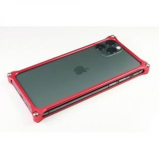 iPhone 11 Pro Max ケース ギルドデザイン ソリッドバンパー レッド iPhone 11 Pro Max