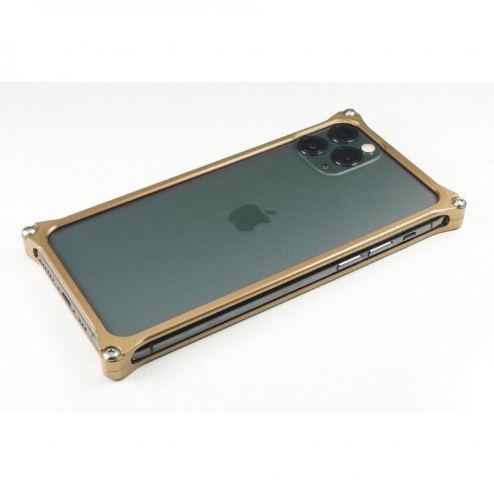 iPhone 11 Pro Max ケース ギルドデザイン ソリッドバンパー シグネイチャーゴールド iPhone 11 Pro Max_0