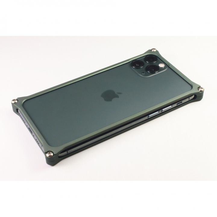 iPhone 11 Pro Max ケース ギルドデザイン ソリッドバンパー マットグリーン iPhone 11 Pro Max_0