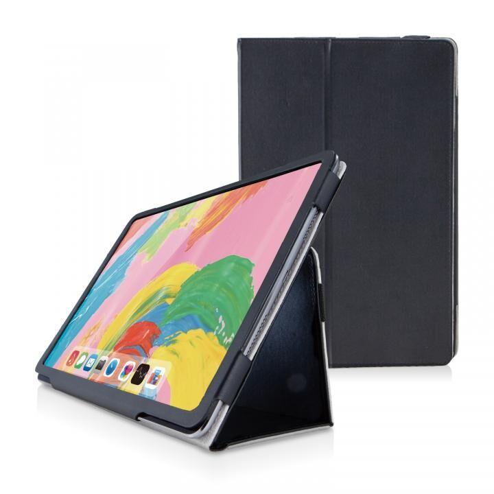 ソフトレザーカバー 2アングル ブラック iPad Pro 2018 11インチ_0