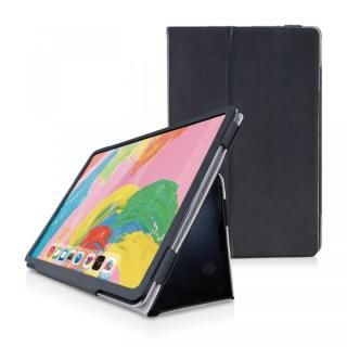 ソフトレザーカバー 2アングル ブラック iPad Pro 2018 11インチ
