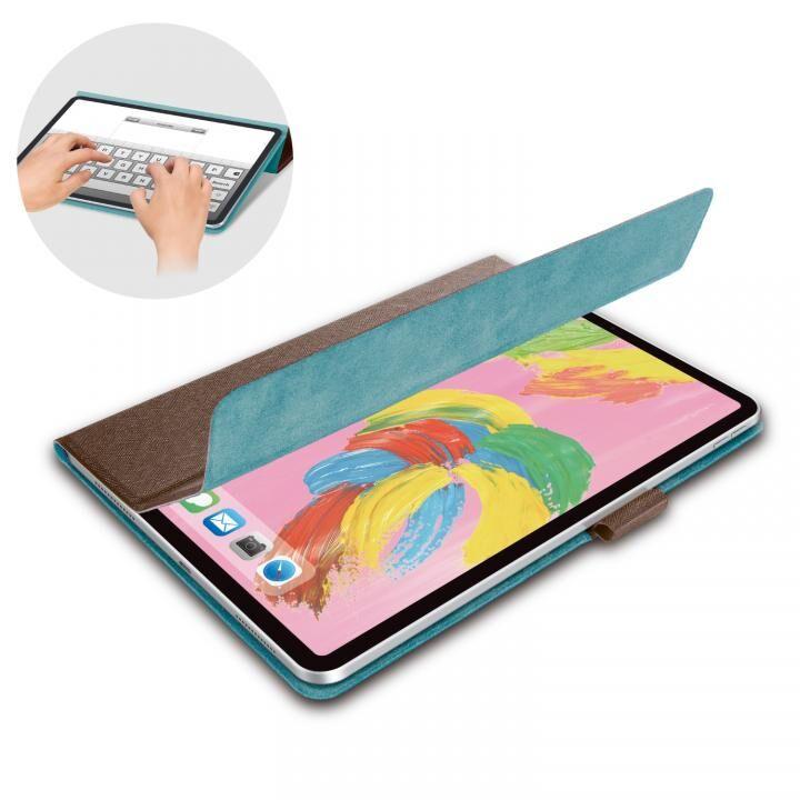 イタリア製高級ソフトレザー フラップカバー ブラウン iPad Pro 2018 11インチ_0