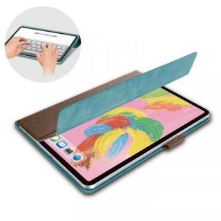 イタリア製高級ソフトレザー フラップカバー ブラウン iPad Pro 2018 11インチ
