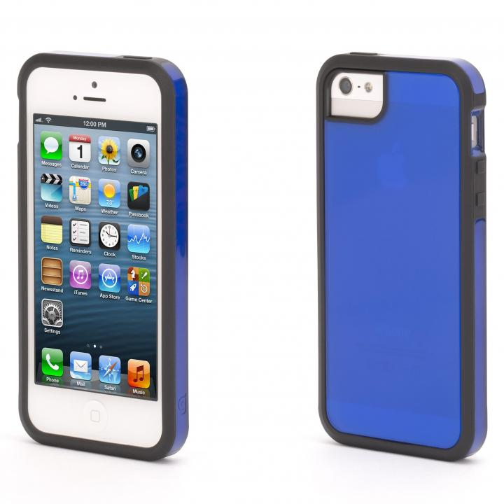 iPhone SE/5s/5 ケース Separates iPhone SE/5s/5 Thyme-BLK BLU_0