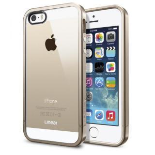 リニア クリスタル シャンパン・ゴールド iPhone 5s/5ケース
