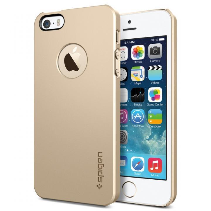 ウルトラ・シン・エア A シャンパン・ゴールド iPhone SE/5s/5 ケース