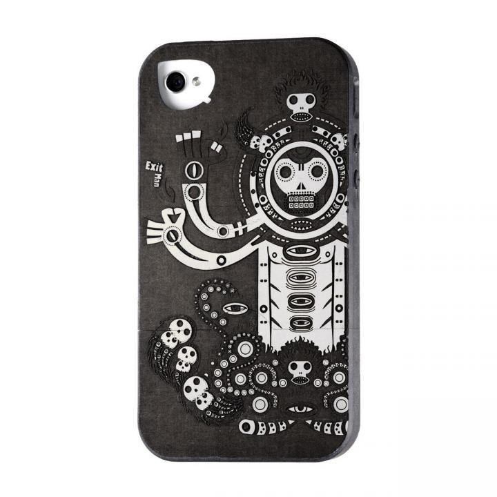 iPhone SE/5s/5 ケース リサイクルウッドケース The Gate-White iPhone SE/5s/5ケース_0