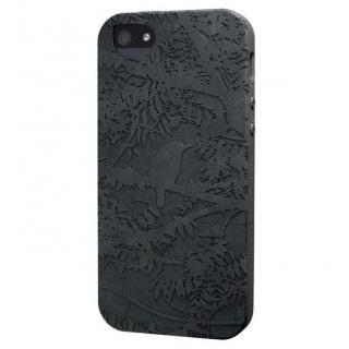 リサイクルウッドケース The Wren-Black iPhone SE/5s/5ケース