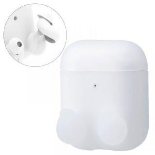 無線充電イヤホンカバーAirPods用シリコンケース クリア