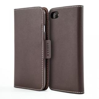ZENDO KAIGA(カイガ) German Leather 手帳型ケース for iPhone 7 Plus