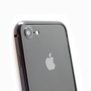 クリスタルアーマー メタルバンパー ジェットブラック iPhone 7