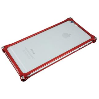 ギルドデザイン ソリッドバンパー レッド iPhone 6 Plus