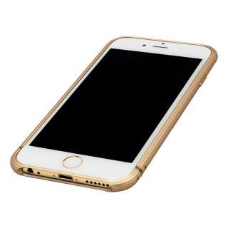 【iPhone6ケース】超々ジュラルミンA2017 15gネジなしバンパー SQUAIR The Edge ゴールド iPhone 6バンパー_3