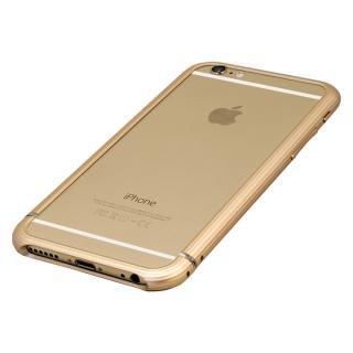 【iPhone6ケース】超々ジュラルミンA2017 15gネジなしバンパー SQUAIR The Edge ゴールド iPhone 6バンパー_4