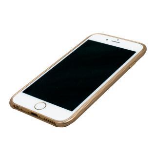 【iPhone6ケース】超々ジュラルミンA7075 SQUAIR The Dimple ゴールド iPhone 6_2