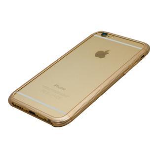 【iPhone6ケース】超々ジュラルミンA7075 SQUAIR The Dimple ゴールド iPhone 6_3