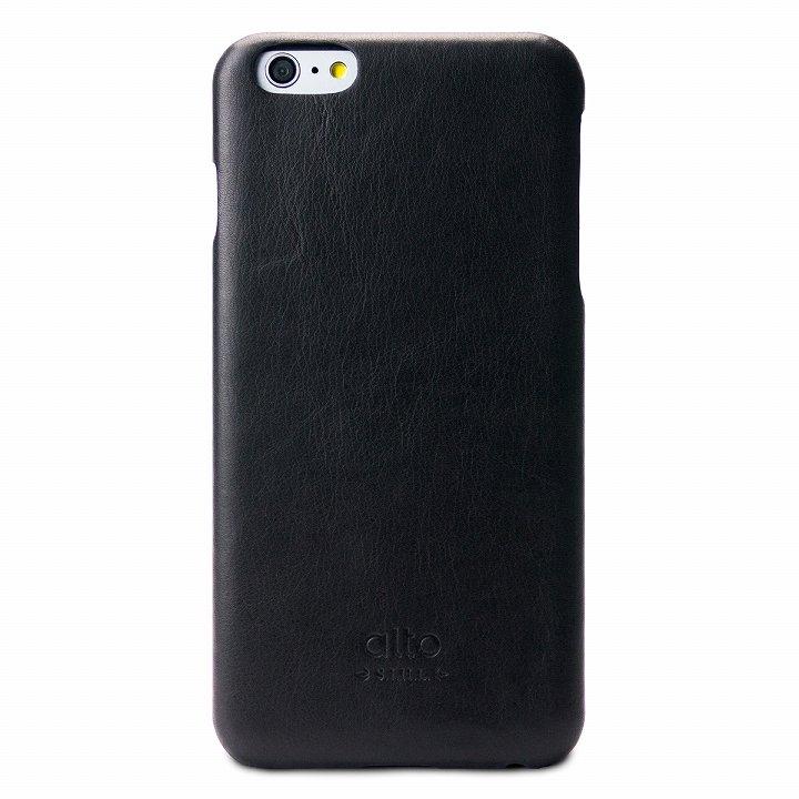 iPhone6 Plus ケース イタリア製本革ケース alto Original ブラック iPhone 6 Plus_0