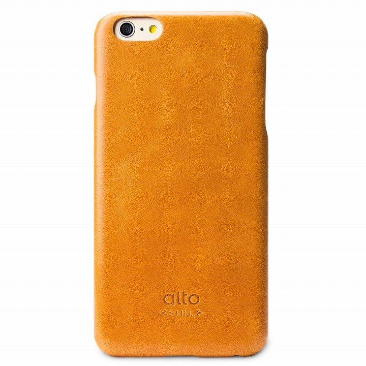 【iPhone6 Plusケース】イタリア製本革ケース alto Original ライトブラウン iPhone 6 Plus_0