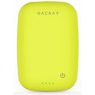 ワイヤレス充電器+4000mAhモバイルバッテリー Cable-Free Mobile Battery イエローグリーン