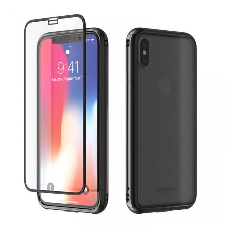 【iPhone Xケース】Monolith Crystal X iPhone X ブラック_0
