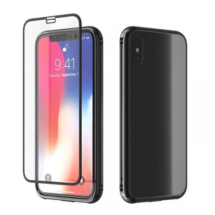 【iPhone Xケース】Monolith X iPhone X ブラック_0