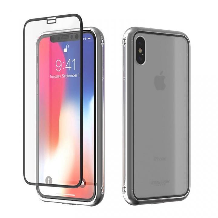 【iPhone Xケース】Monolith Crystal X iPhone X シルバー_0